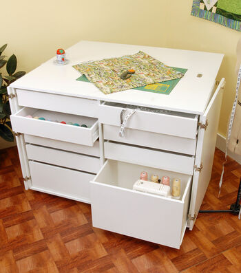 Kangaroo Kabinet Dingo Storage Unit-White