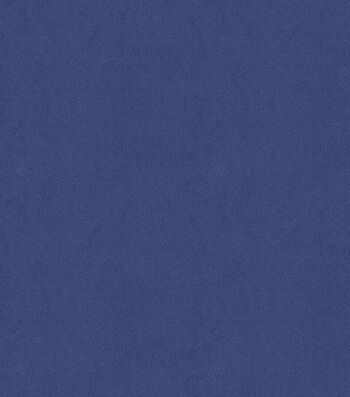"""Signature Series Solid Faux Suede Fabric 58""""-Blue"""