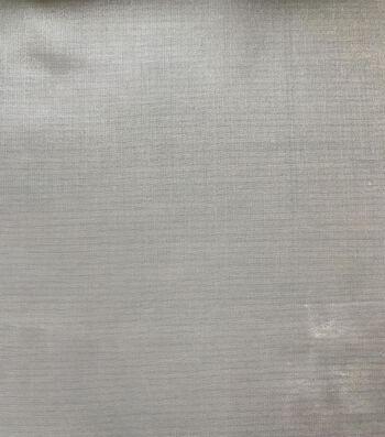 """Glitterbug Chiffon Fabric 45""""-Solid White"""