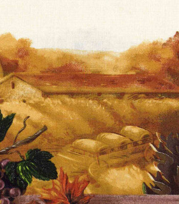 """Harvest Cotton Fabric 60""""-Wide Countryside"""