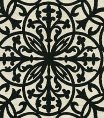 """Sunbrella Outdoor Fabric 54""""-Maldives Black"""