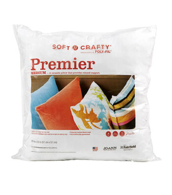 "Soft N Crafty Premier 20"" x 20"" Pillow"
