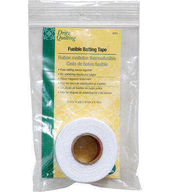 """Dritz Quilting Fusible Batting Tape 0.75""""x10 Yds"""