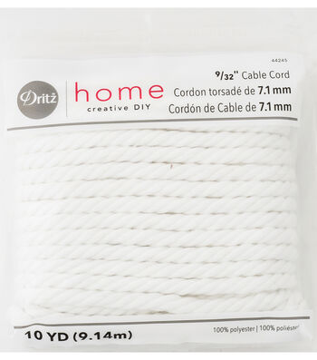 "Dritz Home 0.28"" x 10Yds Cable Cord"