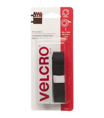 VELCRO® Brand Sticky-Back Tape 0.75''x18''