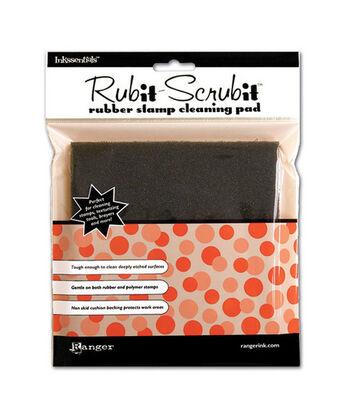 """Inkssentials Rub-It Scrub-It Stamp Cleaning Pad-6""""X6"""""""