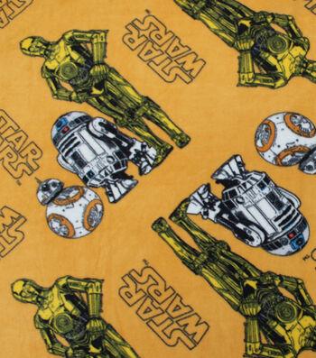 "Star Wars™: The Last Jedi Fleece Fabric 58""-Droids"