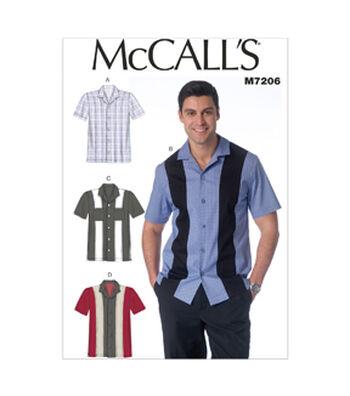 McCall's Mens Top-M7206
