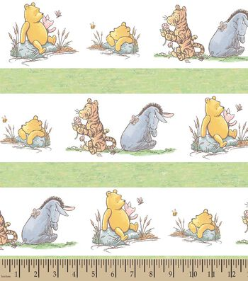 Disney® Classic Pooh & Friends Print Fabric