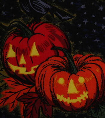 "Halloween Cotton Fabric 43""-Bewitching Hour"