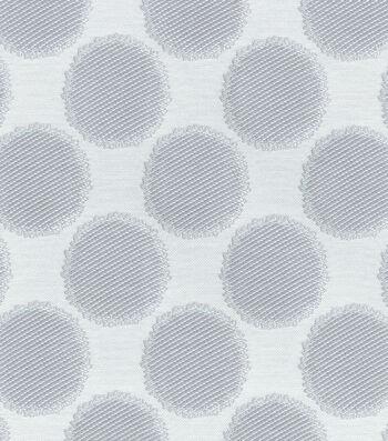 "Waverly Upholstery Fabric 55""-Circling Grey"