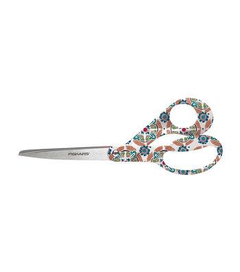 """Fiskars Nomad Premier 8"""" Bent Deco and Folding Scissors Designer Set"""