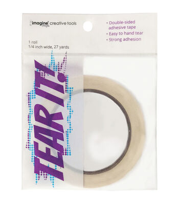 Imagine® Crafts Tear It! Double-Sided Adhesive Tape 0.25''x27 yds