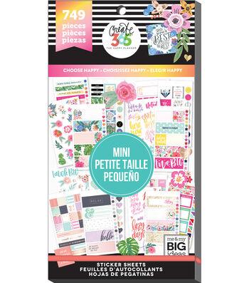 Me & My Big Ideas® Happy Planner™ Mini Stickers-Choose Happy