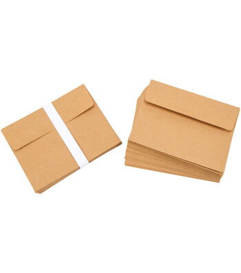 Core'dinations 50 Cards 50 Envelopes A2 Kraft