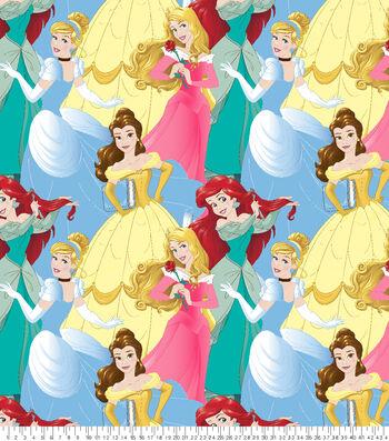 "Disney Princesses Fleece Fabric 59""-Packed"