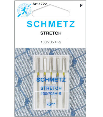 Schmetz Stretch Machine Needles 5/Pk-Size 11/75