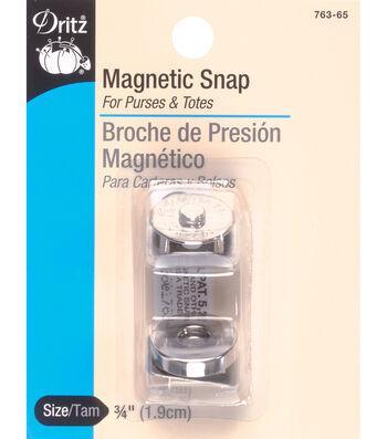 Dritz 0.75'' Magnetic Snap-Gilt 1pc