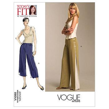 Vogue Patterns Misses Pants-V1050