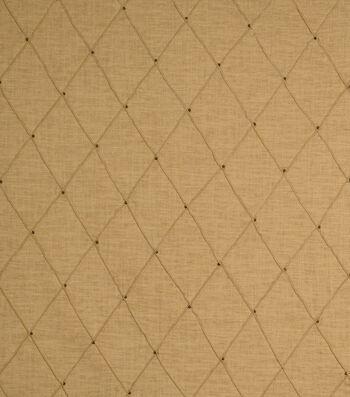 "Jaclyn Smith Print Fabric 54""-Jasso /Caramel"