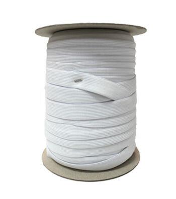 """Pellon 3/8"""" x 144yd Spool  Knit Elastic- White"""