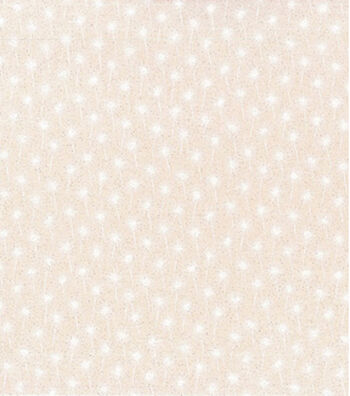 Patriotic Cotton Fabric 43''-White Sparklers