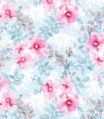 """Kathy Davis® Premium Cotton Fabric 44""""-Floral Bouquet"""