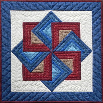 """Starspin Wall Quilt Kit-22""""X22"""""""