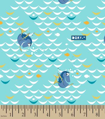Disney® Finding Dory at Sea Print Fabric