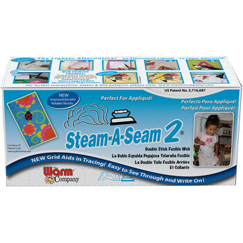 "Steam-A-Seam 2 Double Stick Fusible Web-12""X40yd"