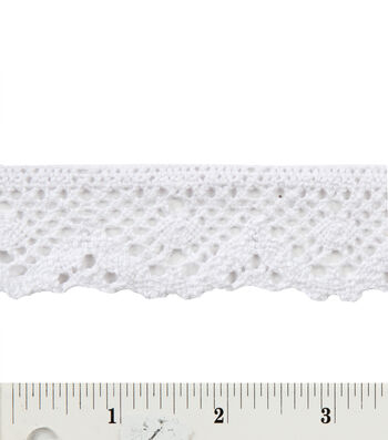 """1-7/16"""" Spider Cluny Lace"""