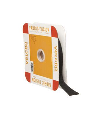 VELCRO® Brand Iron On 15ft X 3/4in Tape, Black