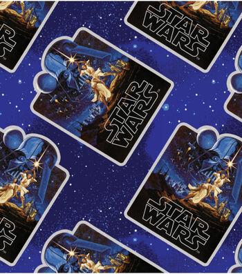 "Star Wars™ Fleece Fabric 58""-Vintage Posters"