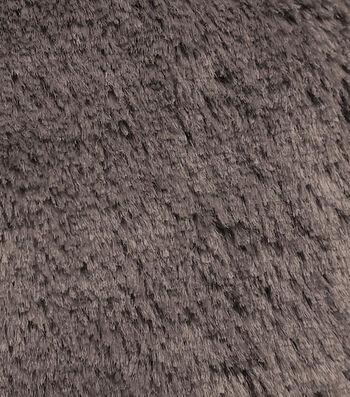 "Faux Mink Fur Fabric 59""-Brown"