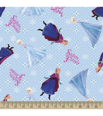 Disney® Frozen Print Fabric-Sisters Forever