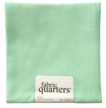 "Fabric Quarters Cotton Fabric 18""-Mint Green"