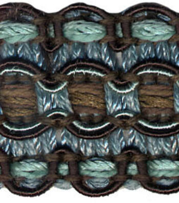 Conso 1in Blue/brown Braid