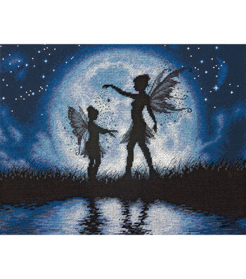 Dimensions Counted Cross Stitch Kit Twilight Silhouette