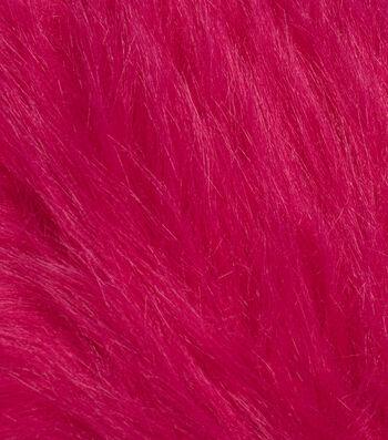 "Fashion Faux Fur Fabric 59""-Magenta"