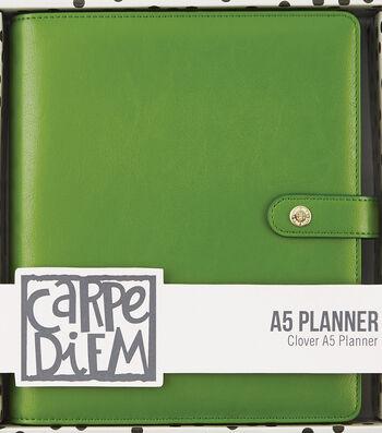 Carpe Diem A5 Planner-Green