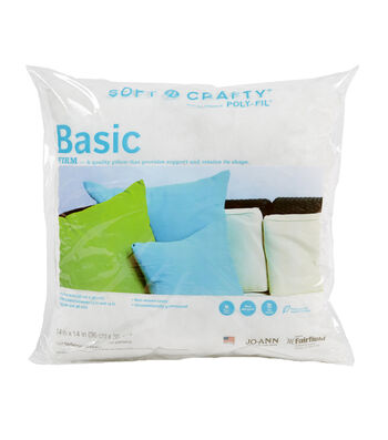 "Soft N Crafty Basic 14"" x 14"" Pillow"
