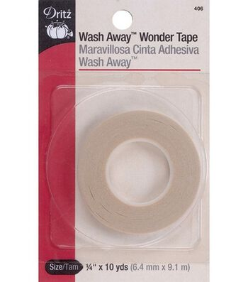 "Dritz 0.25"" x 10Yds Wash Away Wonder Tape"