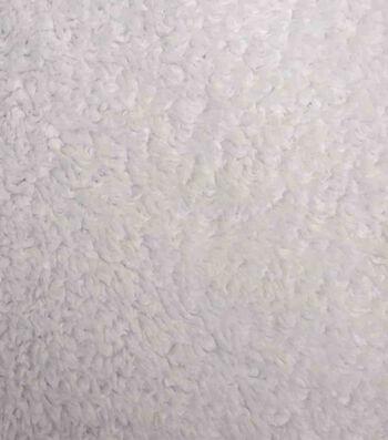 Luxury Faux Fur Sherpa Fabric 58''-White