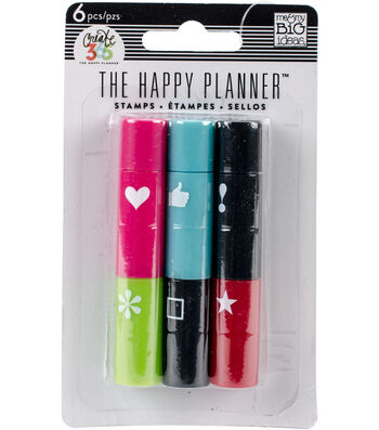 The Happy Planner Stackable Stamps-Icons