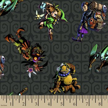 Nintendo® The Legend of Zelda™ Characters Print Fabric