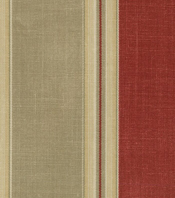 """Waverly Upholstery Fabric 54""""-Country Club Crimson"""