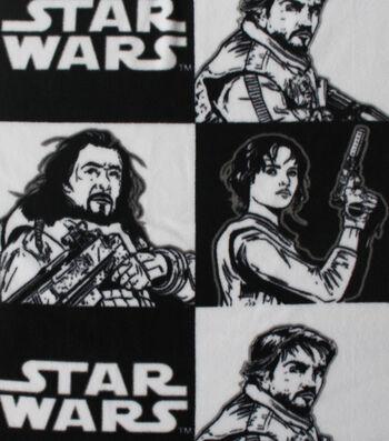 "Star Wars™ Rogue One Fleece Fabric 58""-Rebel Checkers"
