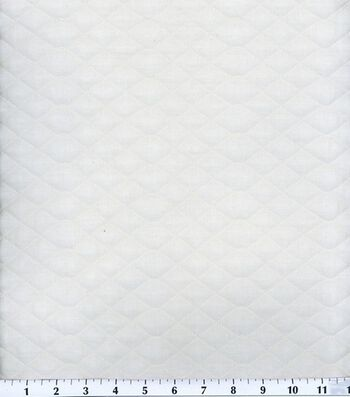 """Double Faced Pre-Quilted Cotton Fabric 42""""-Diamond Solids"""