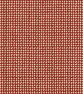 "Waverly Upholstery Fabric 54""-Country Fair Crimson"