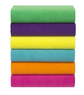 Anti Pill Fleece Fabric Solids-3 yard Pieces